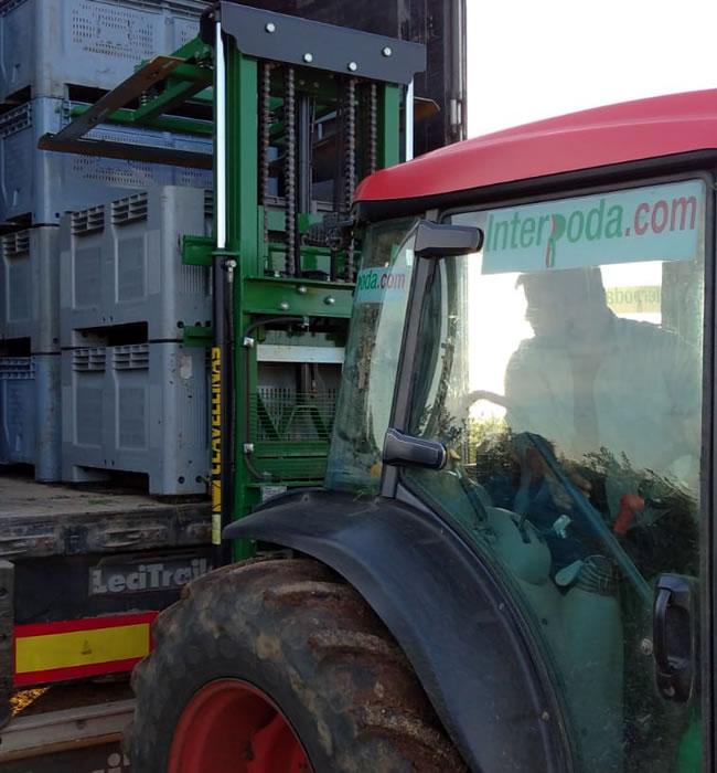 Labores de tractor Interpoda