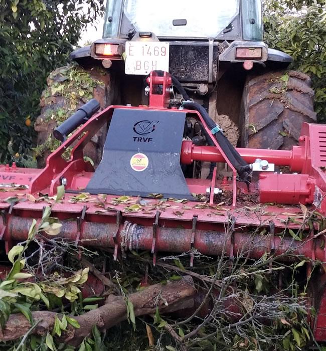 Trituradora para restos de poda